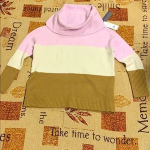 NWT French Connection Cowl Neck Collar Sweater S.